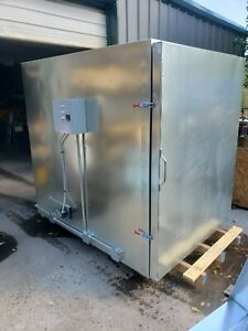 Batch Powder Coating Electric Curing Oven New 4x6x6 Lead Time Exist