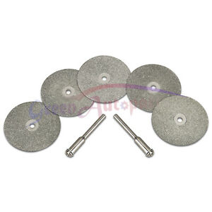 5pcs 35mm Diamond Replacemant Wheels For Tungsten Grinder sharpener Rotary Tool