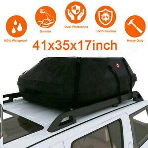 20 Cubic Car Cargo Roof Top Carrier Bag Rack Storage Luggage Waterproof Rooftop