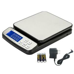 110 Lbs X 0 1 Oz Lcd Digital Shipping Scale Postal Scale Postage W ac Adapter