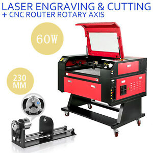 60w Laser Engraver Machine Rotary Axis Co2 Laser Engraving Machine 700 500mm