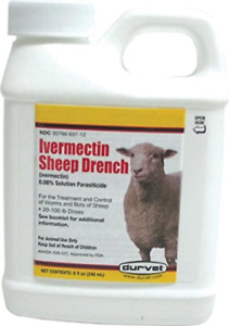 Ivermectin Sheep Drench 8 Oz packaging May Vary