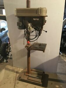 Delta Rockwell Drill Press 15 665 Made In Usa 120v 3 4hp Single Phase