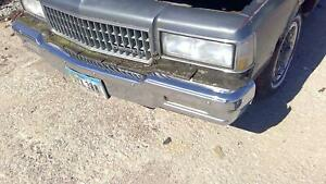 1980 1990 Chevy Caprice Front Bumper Assembly Paint Code 15u