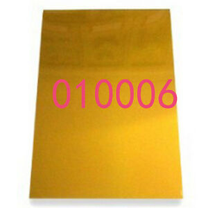 Photopolymer Plate A4 Hot Foil Stamp Water Soluble Die Mold Uv Exposure 1 Sheet