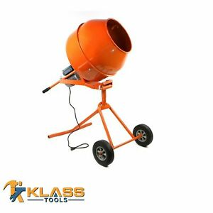 5 Cubic Feet Standing Cement And Concrete Mixer