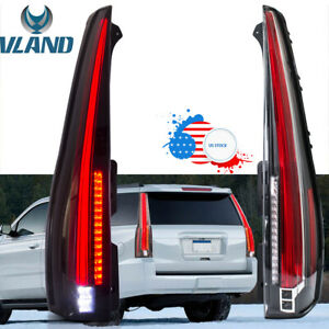 Led Tail Rear Lights For 2007 2014 Gmc Yukon Chevy Tahoe Suburban Plug And Play