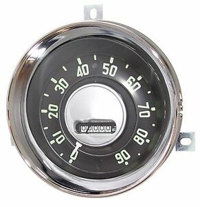 1954 1955 1st Series Chevrolet Truck Speedometer Complete Cluster