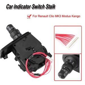 1 X Car Abs Indicator Switch Stalk Compatible With Renault Clio Mk3 Modus Kango