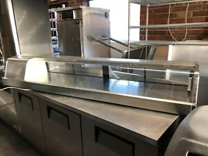 Turbo Air 50 Sushie Case Restaurant Refrigerated Commercial