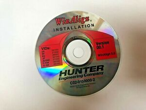 Hunter Engineering Winalign Alignment Installation Video Cd Software P 49