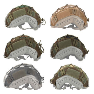 Tactical Helmet Cover for FAST Helmet Camo Hunting Airsoft Headwear Gear $14.99