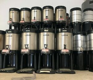 Fetco Luxus L3d 15 Thermal Coffee Server Set Of 60 Each Used