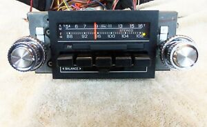 1980 86 Ford Truck Bronco Am Fm Stereo in Real Clean Shape 100 Tested