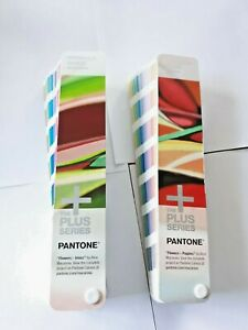 Pantone Books Coated And Uncoated 2014 Series Just Unsealed 8 19 1755 Colors