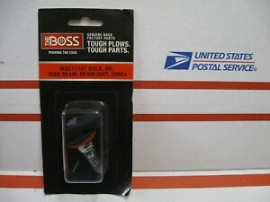 Boss Snow Plow Oem H9 High Beam Light Bulb Msc11107 For 2008 Plow Lights