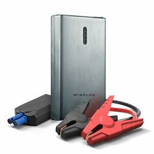 New Winplus Car Jump Start And Portable Power Bank With Jumper Cables 8000 Mah