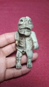 Rare Pre Columbian Mayan Duality Figure From Mexico