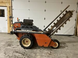 2007 Ditch Witch 1820h Walk Behind Trencher 375 Hours 60 Inch Bar