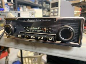 Vintage Becker Grand Prix Stereo Mu Car Radio W Amplifier 280sl 350sl 4 5
