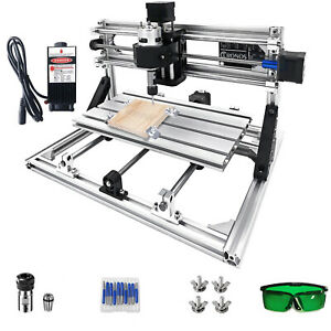 3 Axis Cnc Router Kit 3018 2500mw For Wood Usb Port Injection Molding Material