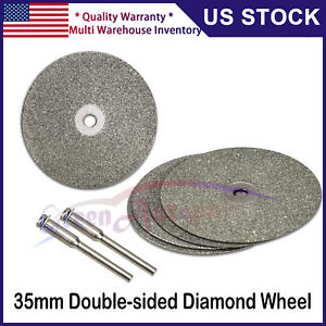 5pcs Diamond Wheels Replacement Tungsten Sharpener Grinder Electric Rotary Tool
