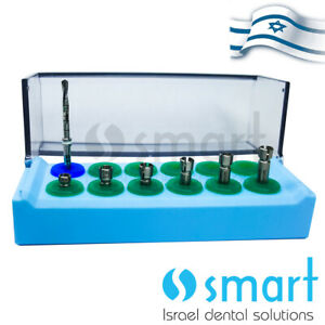 Lot X 6 Dental Implant Drill Stopper Surgical Drill 2 0 Mm Autoclave Box Set