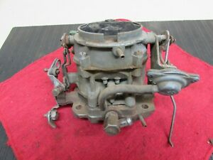 Rochester Two Barrel Bay City 2 Jet Carburetor 7040436 For 1970 Chevy With 350