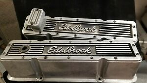 Edelbrock Chevy Small Block Sbc tall Valve Covers