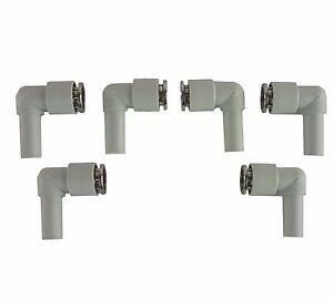 6 Air Lift Manifold Composite Fittings For Air Bag Suspension System 3p 3h V2