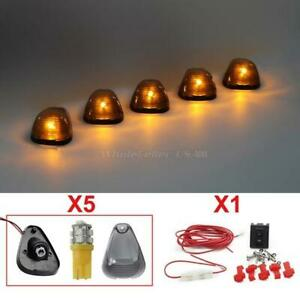 5 Smoke Clearance Light Assembly 194 152 Amber Led Bulb Wiring Pack For Ford