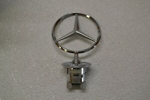 New Mercedes Benz Front Hood Star Emblem Badge Genuine Oem A2218800086
