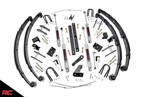 Rough Country 617 20 X series 4 5 Lift Kit 87 95 Jeep Wrangler Yj Suspension