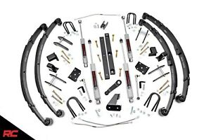 Rough Country 613 20 X series 4 5 Lift Kit 87 95 Jeep Wrangler Yj Suspension