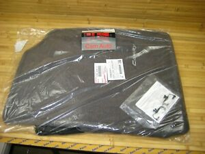 Toyota Camry Floor Mats Gray Carpet Set Of 4 Oem New 2007 2011 With Clip