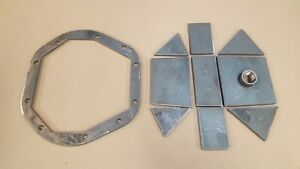 Diy Heavy Duty Dana 44 Differential Cover Kit Weld It Yourself 1 4 Steel