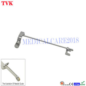 Stainless Steel Biopsy Needle Guide For Sonoscape 6v3 Ultrasound Transducer