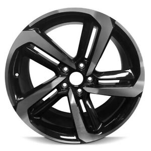 19 Black Machined Face Factory Wheel Fits 18 19 Honda Accord 19x8 5 5x4 5 50mm