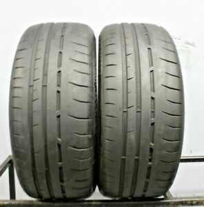 Two Used 245 35zr20 2453520 Dunlop Sport Maxx Race 2 6 32 D89