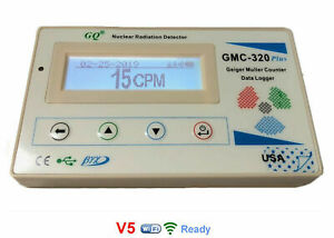 Gmc 320 Plus V5 Wireless Wifi Geiger Counter Radiation Detector