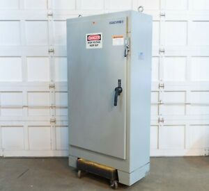 Hoffman A72xm4018ftc Steel Electrical Enclosure Electric Box 72 X 40 X 18