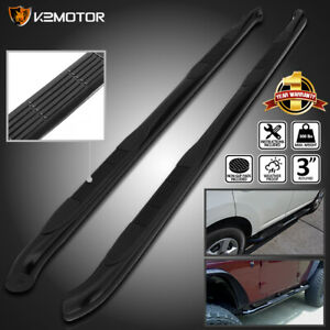 Fits 2011 2019 Ford Explorer 4dr Black S s 3 Side Step Nerf Bar Running Boards