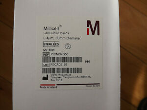 Millipore Millicell Picm0rg50 Cell Culture Insert 30 Mm Hydrophilic 4 m Box 50
