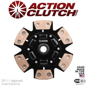 Action Clutch Disc For Honda Acura K Series K20 K24 6 Puck Sprung Hub Stage 3