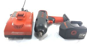 Snap on Ct6850 18v 1 2 Impact Wrench W Battery And Charger Cordless Free Ship