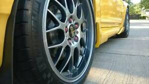 18in Staggered Bbs Rgr Rims Tires Honda S2000 Nsx Spec 5x114 3 Acura Nissan
