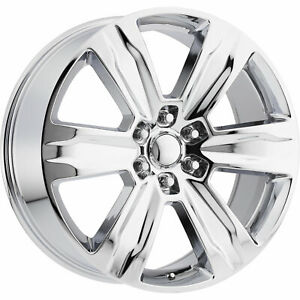 4 22x9 Chrome Wheel Oe Performance 172 2013 2015 Ford F150 Platinum 6x135 44