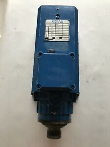 Used 16hp Komo Gc Colombo Spindle Motor Rv154 22 Fb3 Cpe Collet 230v 300hz