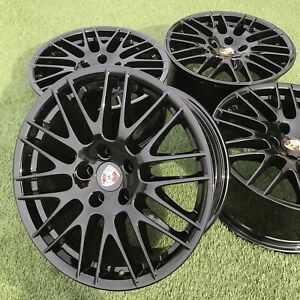 20 Porsche Cayenne Gts Rs Spyder Bbs Genuine Factory Stock Rims Black Set 20