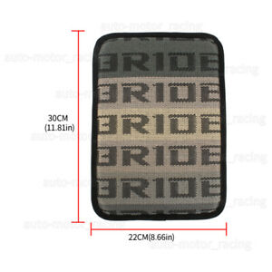 New Bride Gradation Fabric Car Armrest Pad Cover Center Console Box Cushion Mat